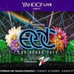 EDC Las Vegas transmisión en vivo