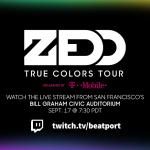 Zedd True Colors Tour Live Stream