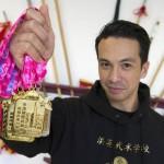 Laidback Luke se convierte en campeón de Kung Fu