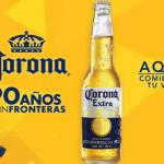 Corona celebró sus 90 años con una fiesta sin fronteras