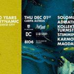 SICARIO y Project Sound presentan 10º aniversario de Diynamic en México