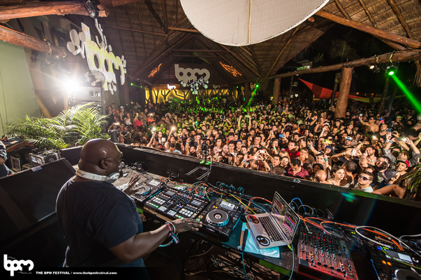 Carl Cox at Blue Parrot | The BPM Festival 2015 Photo credit: aLIVE Coverage for TheBPMFestival.com