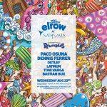 elrow regresa a Ushuaïa con El triángulo de Rowmudas