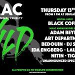 "The Night League y Music Against Animal Cruelty presentan ""Wild"""