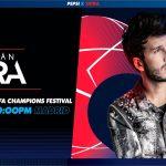 UEFA y Pepsi® confirman a Sebastián Yatra en la UEFA Champions Festival