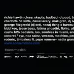Sónar México ha anunciado cartel