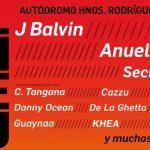 J Balvin, Ozuna y Anuel AA encabezan el cartel de Coca-Cola Flow Fest