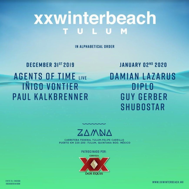 XX Winter Beach