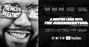 "Carnage estrena su documental ""The Price Of Greatness"""