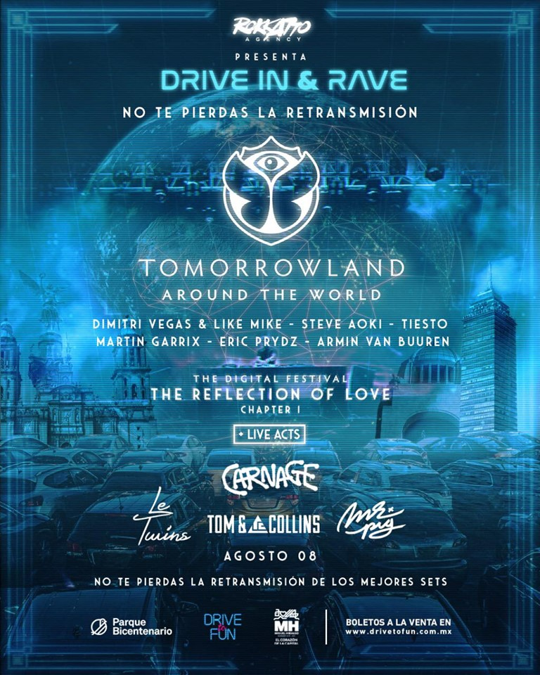 Tomorrowland-Drive-In-México