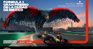 La F1 en CDMX sigue firme este 2020