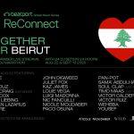 "Beatport Reconnect presenta ""Together for Beirut"" Livestream"