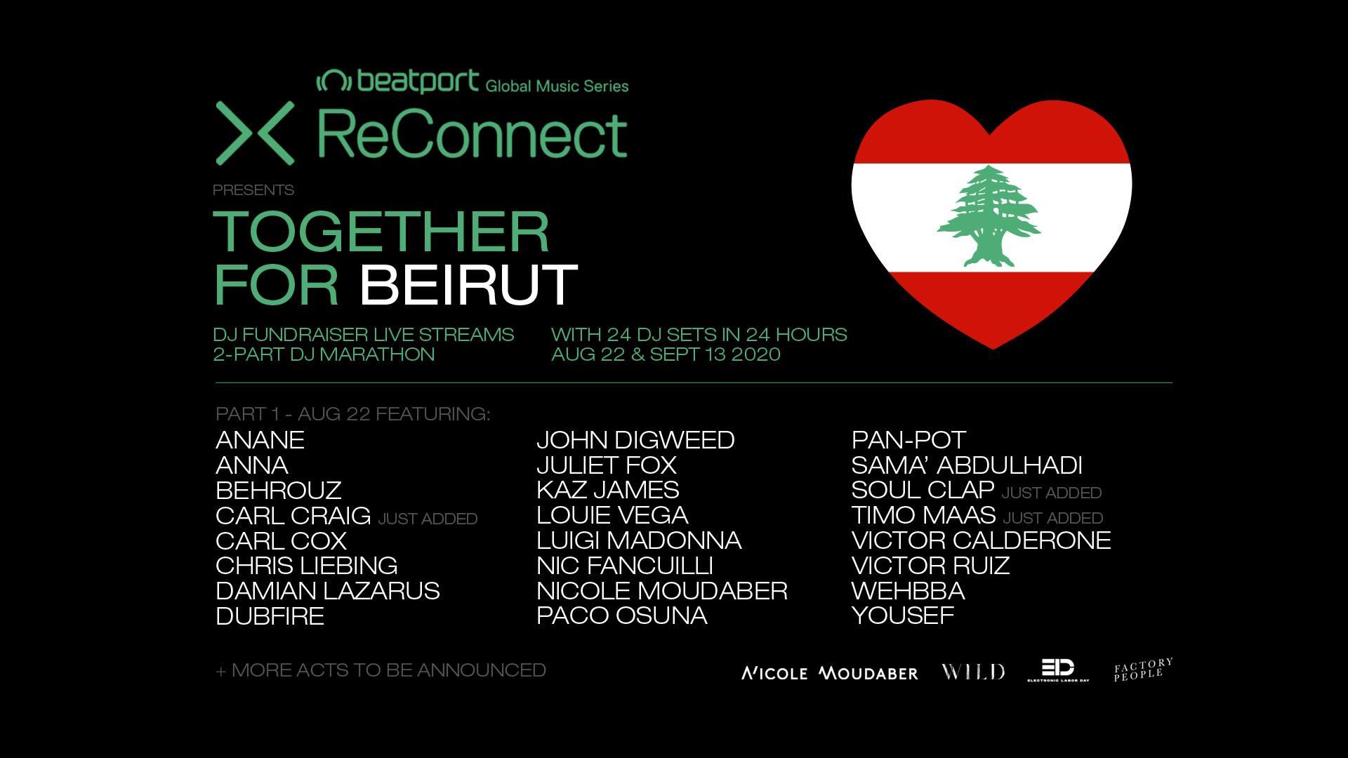 Beatport-Reconnect-Beirut