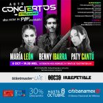 Disfruta una noche de pop inolvidable con Benny Ibarra, Paty Cantú y María León