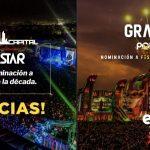 """El Corona Capital y EDC México están nominados como mejor """"Festival Musical de la Década"""" de los Pollstar Awards"""