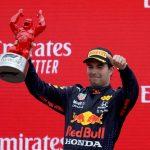 Checo Pérez gana su segundo podio con Red Bull Racing